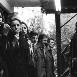Johnny Cash, The Carter Family & The Statlers Photograph