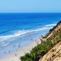 Carlsbad Beach Ocean Sea California Landscape