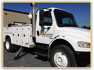 Bucket Truck Aerial Installations Charlotte, NC