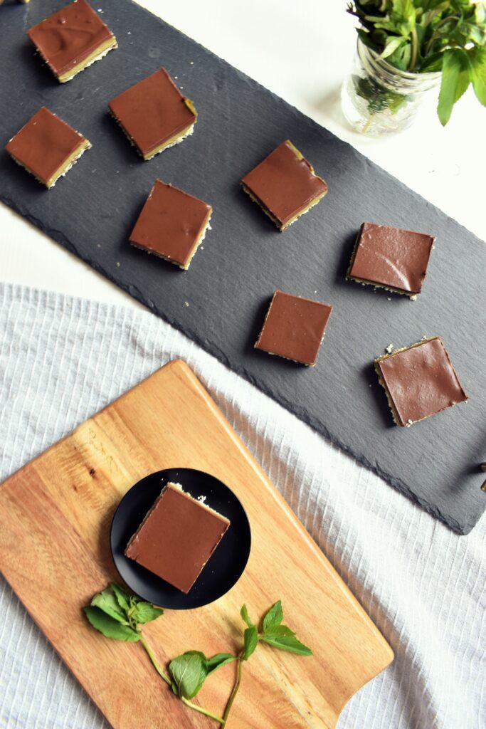 Mint Chocolate Vegan Dessert