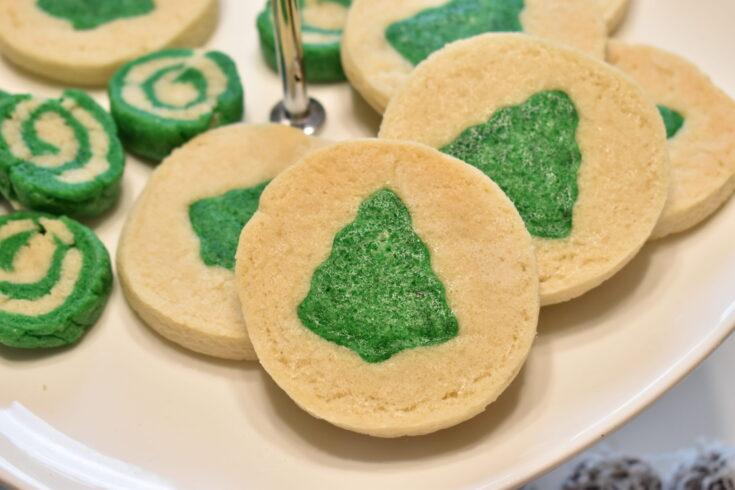 Vegan Christmas Tree Cookies
