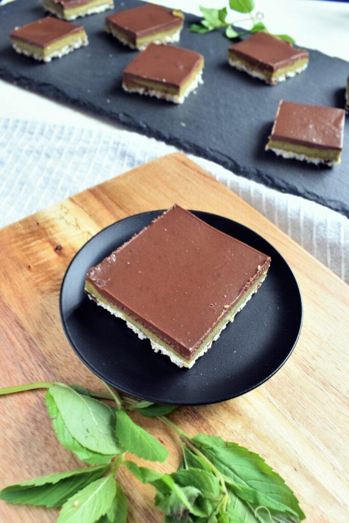 Mint Chocolate Squares