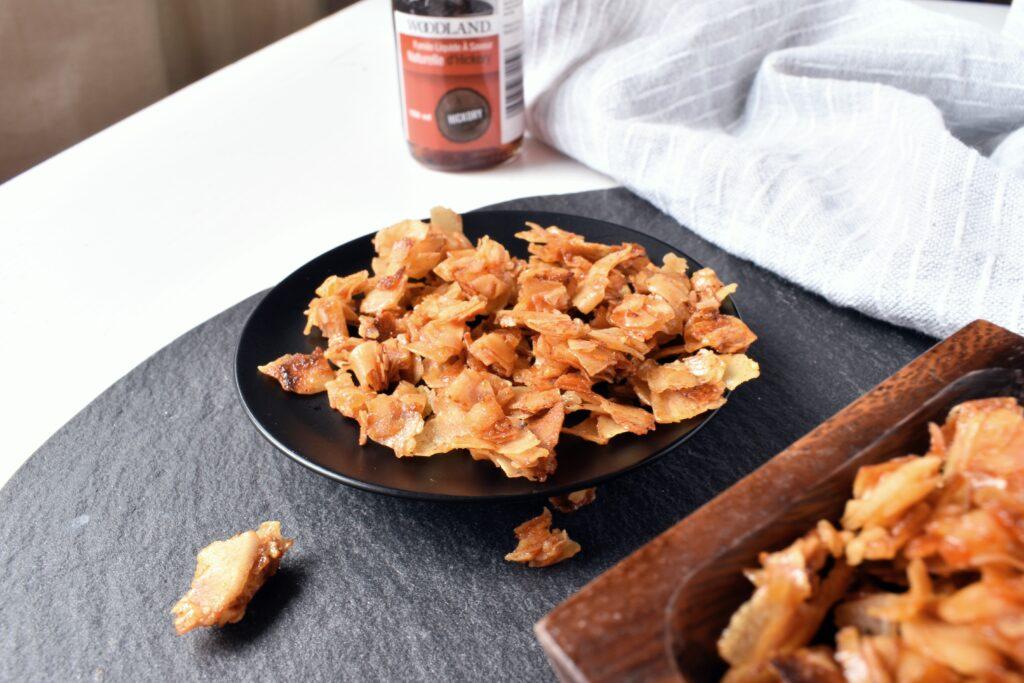 Smoky Vegan Bacon with Coconut