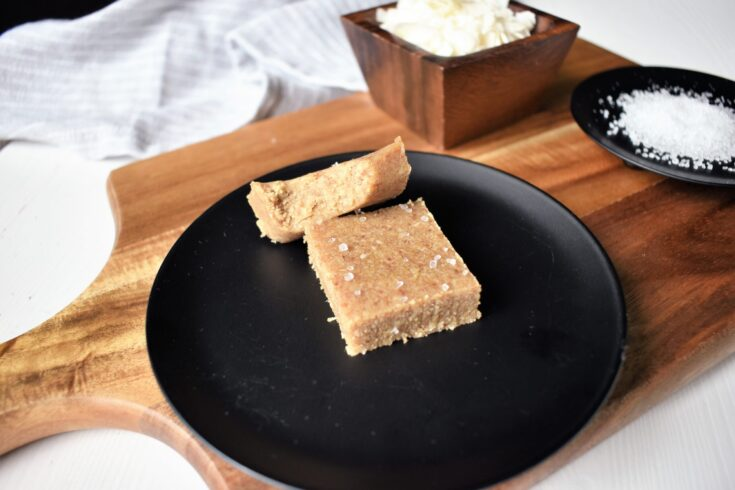 Salted Coconut Date Squares
