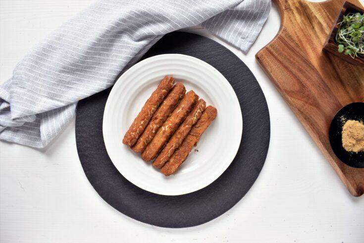 Peanut Sauce Baked Tempeh