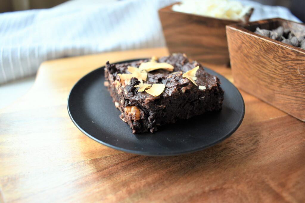 Coconut Chocolate Fudge Brownies