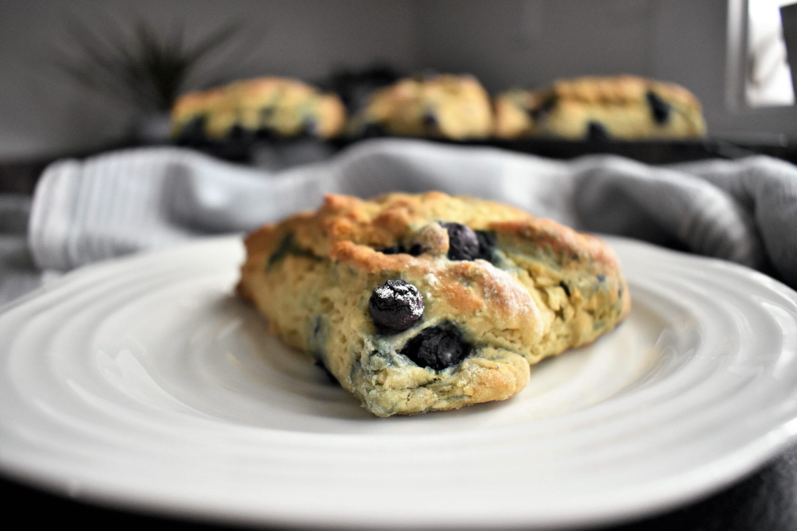 Vegan Blueberry Scones Sugar Free Recipe