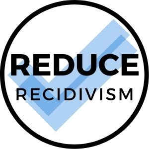 Reduce recidivism for former inmates.