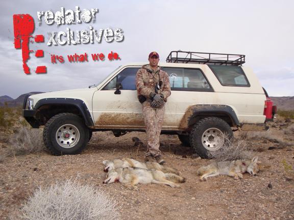 Southwest Guided Predator Hunts