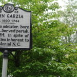 Street sign historic bath NC