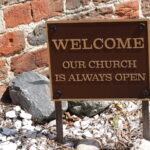 St. Thomas Episcopal Church Welcome Sign