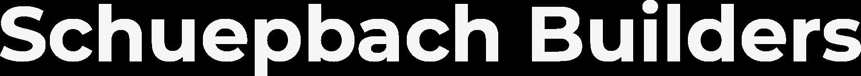 Schuepbach Builders