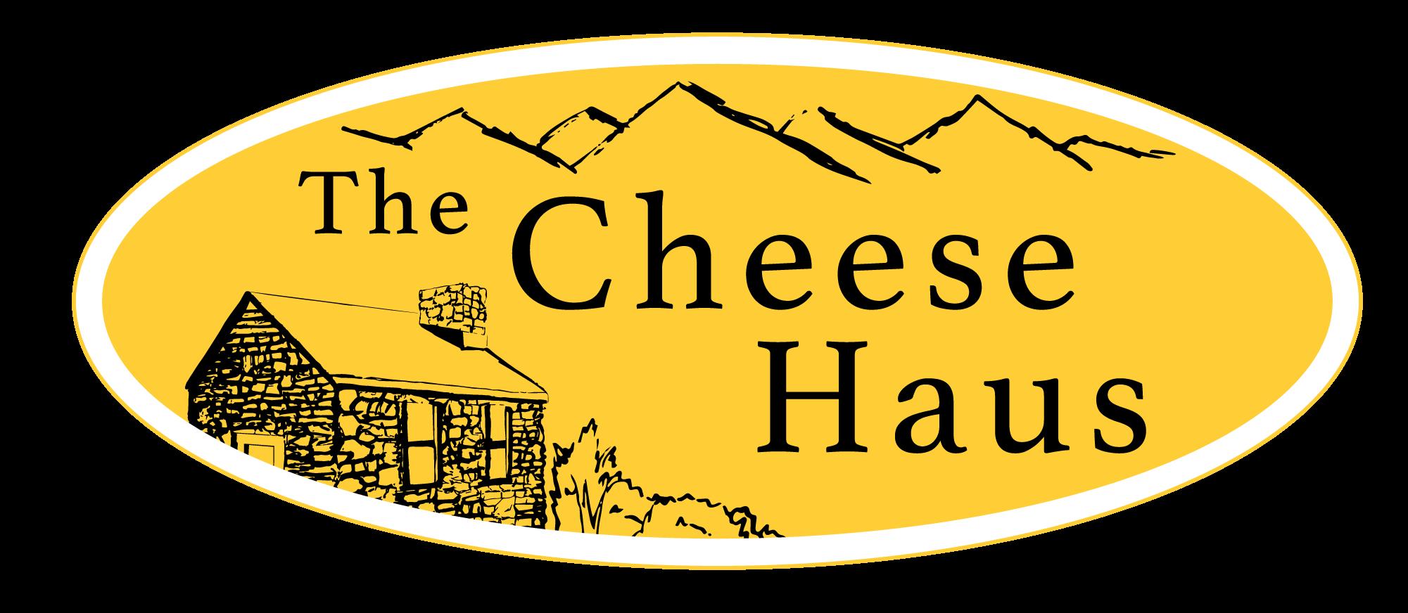 The Cheese Haus Logo White