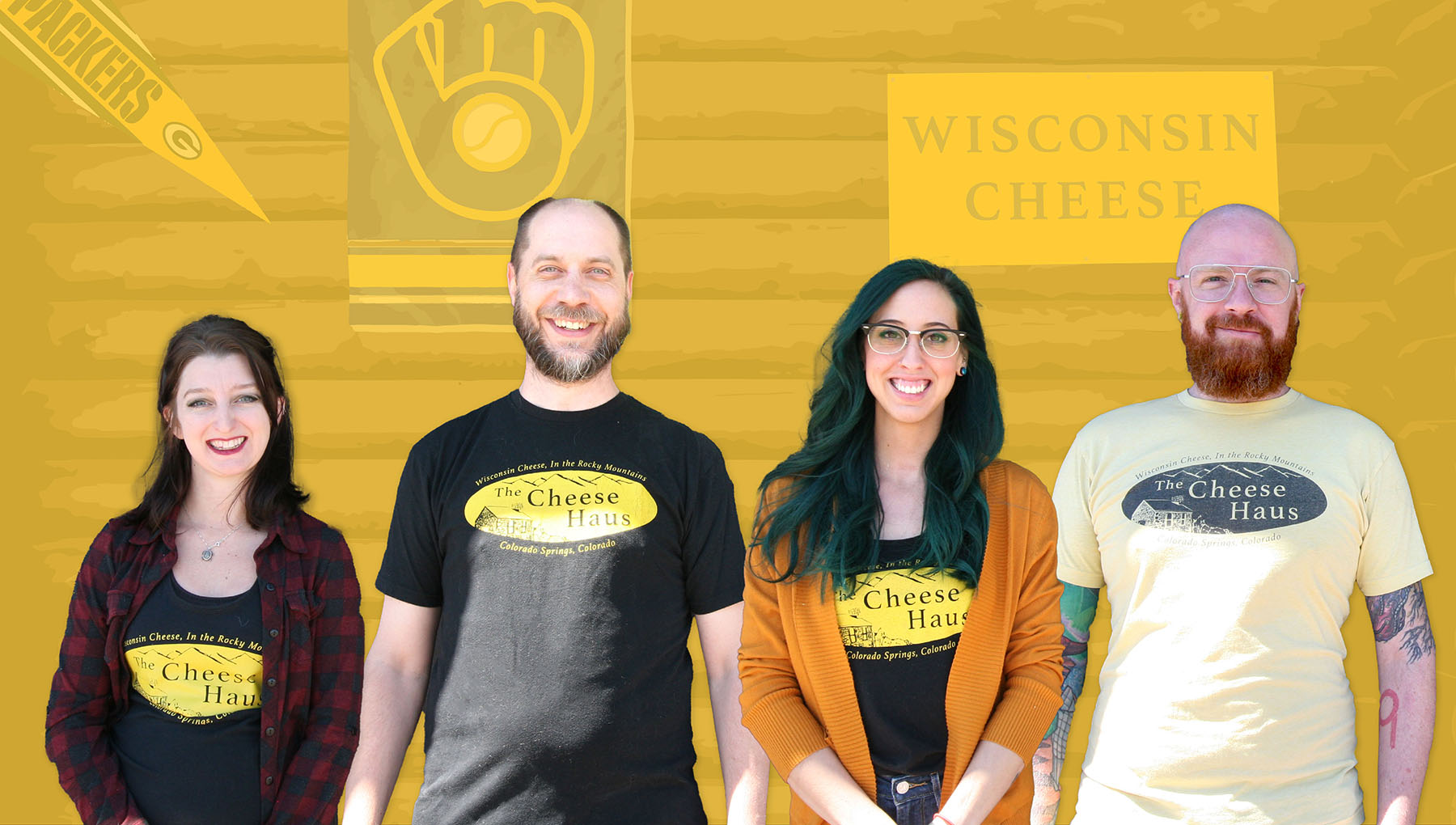 The Cheese Haus Team