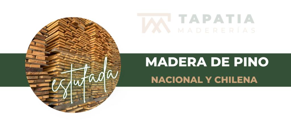 Madera Nacional y madera chilena