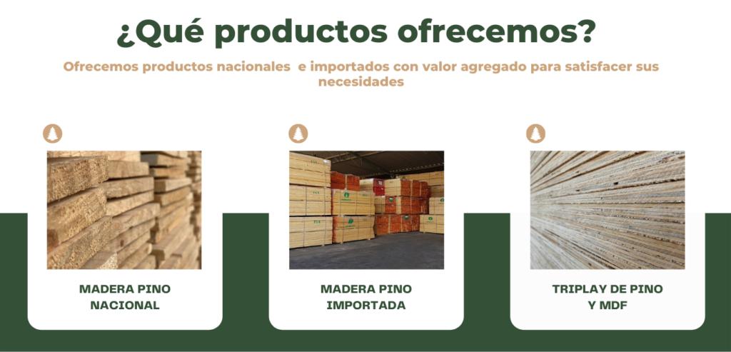 Nuestros productos Tapatia Madererias