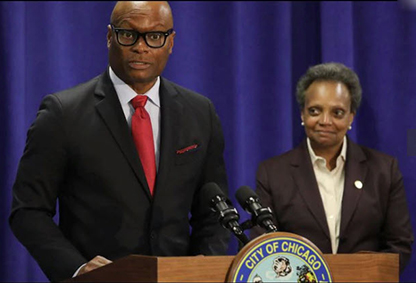 MAYOR LORI LIGHTFOOT ANNOUNCES FORMER DALLAS POLICE CHIEF DAVID BROWN, THE RIGHT LEADER IN A TIME OF CRISIS AS CHOICE FOR THE CHICAGO POLICE SUPERINTENDENT.