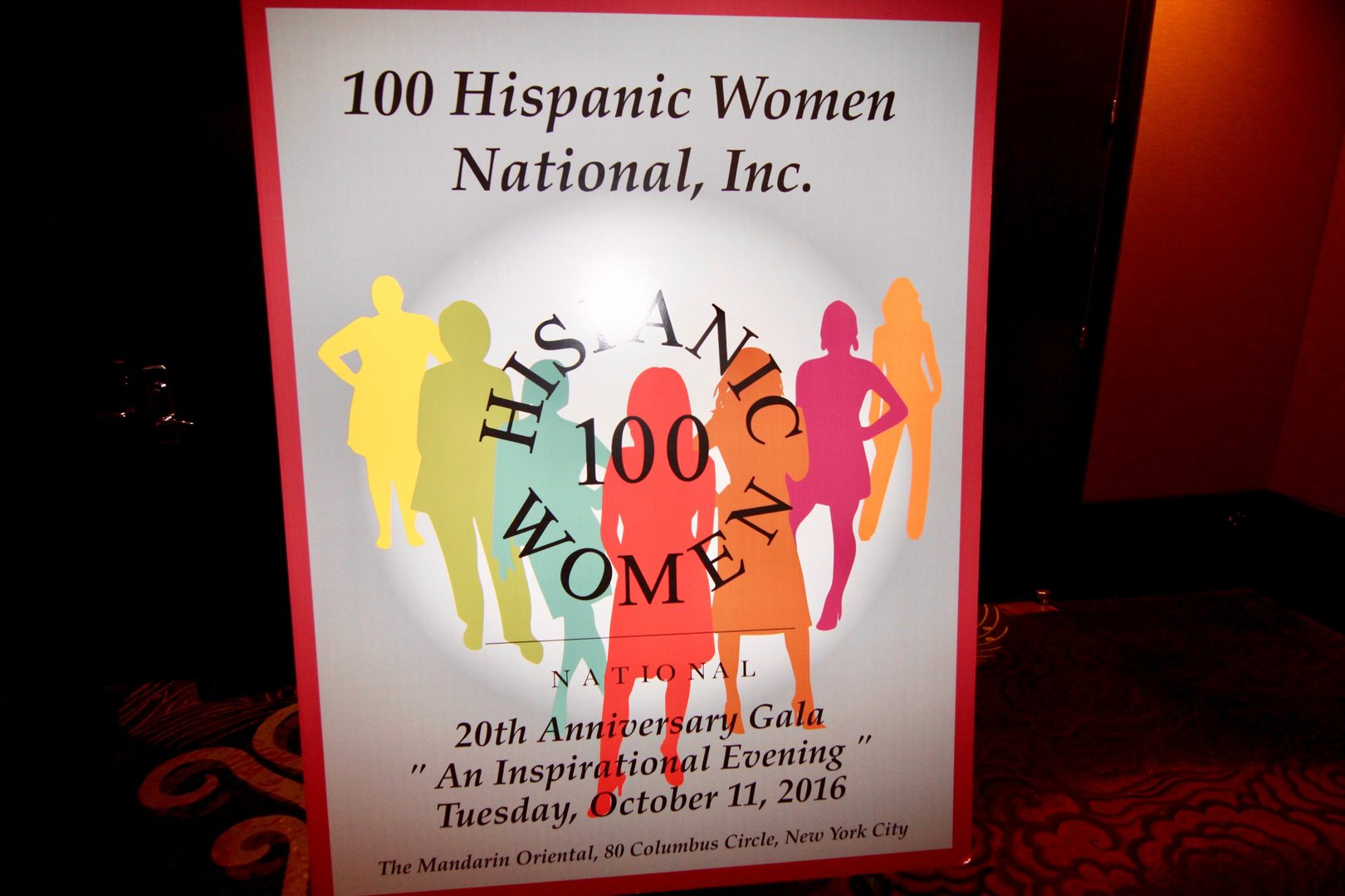 : A 20th anniversary gala for the women's group