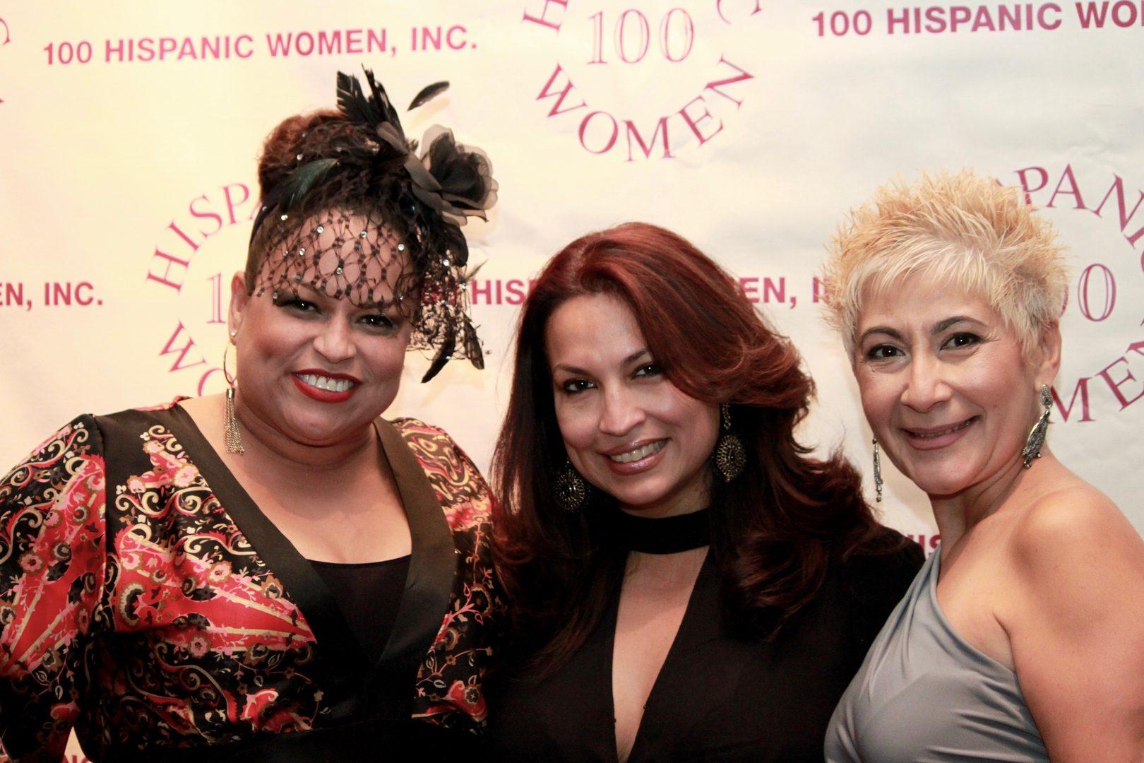 Three happy gorgeous-looking women