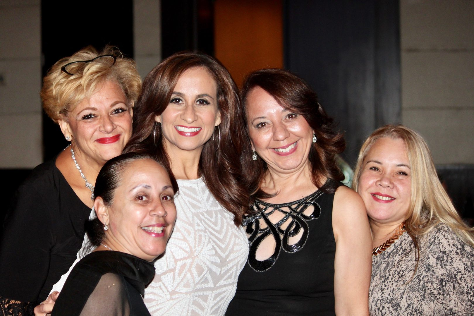 A group of women in an event