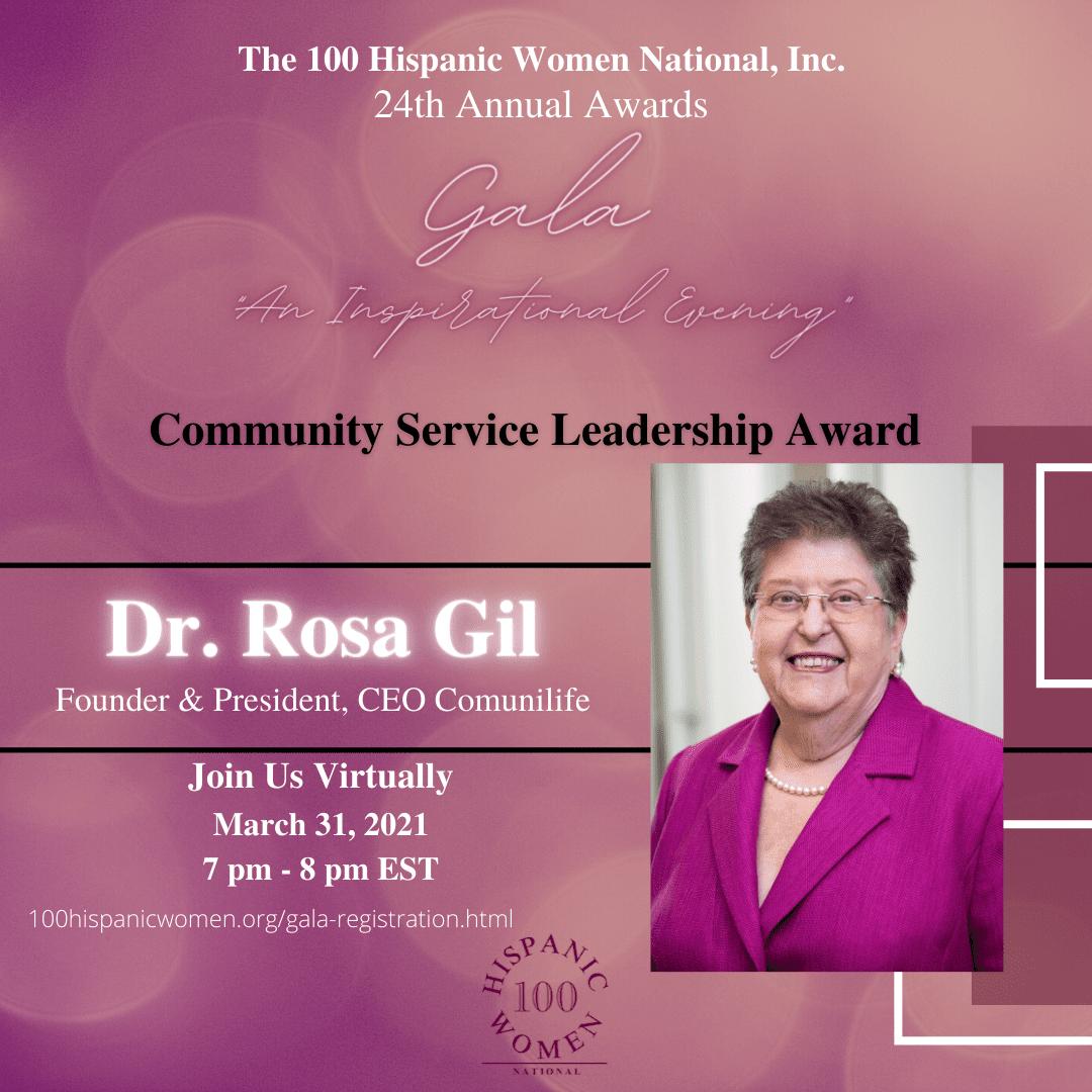 A Community Service Leadership Award