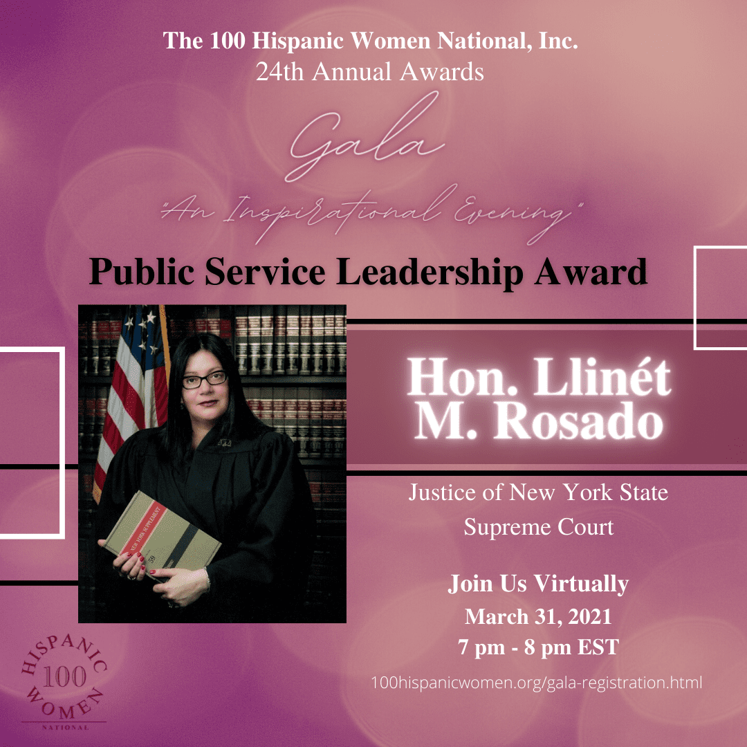 A Public Service Leadership Award