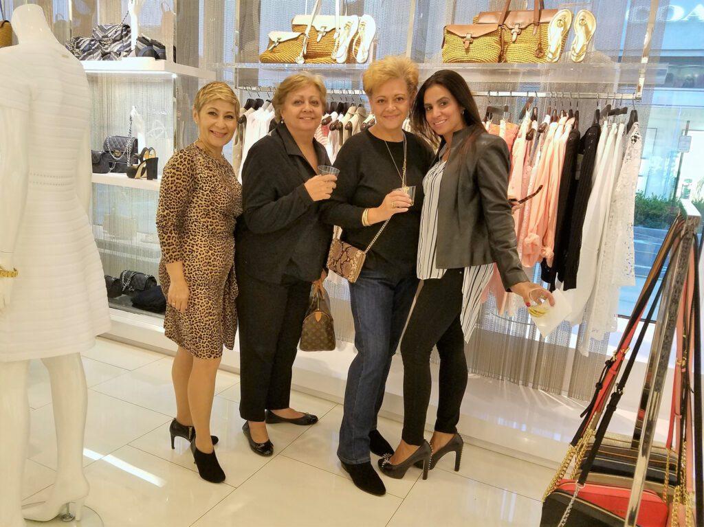Nancy Genova with three women
