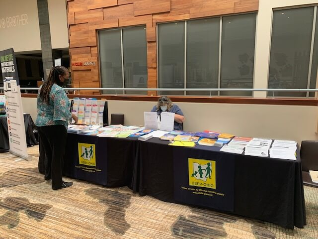 Discover Parenting Exhibit at the 2021 Ohio Association of Teachers of Family and Consumer Sciences Conference