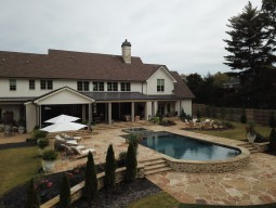 Mansion and pool