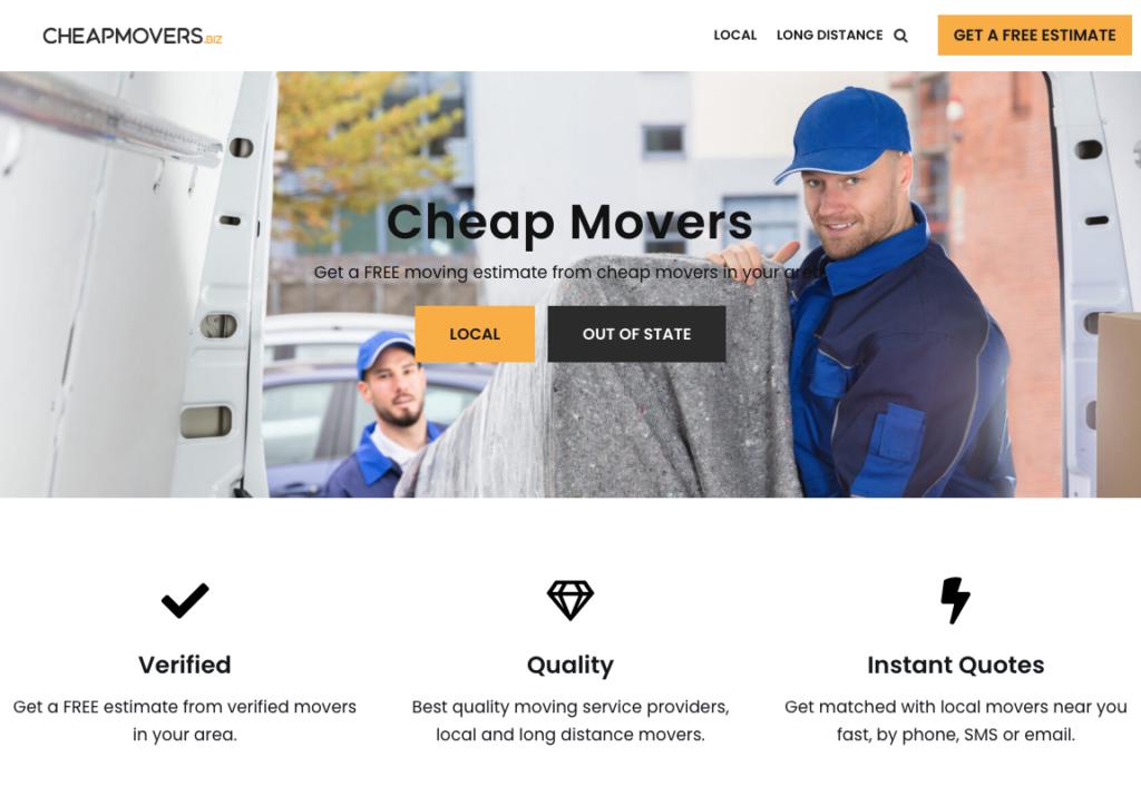 CheapMovers.biz Cheap Movers