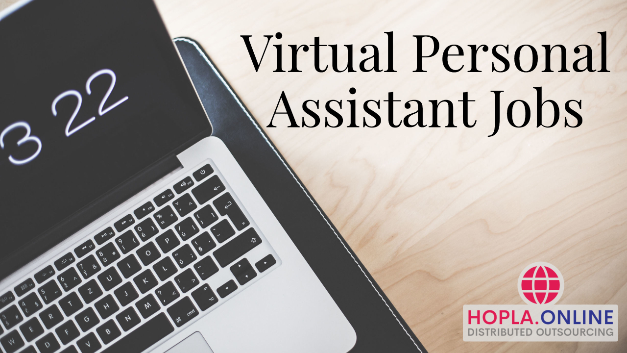 Virtual Personal Assistant Jobs