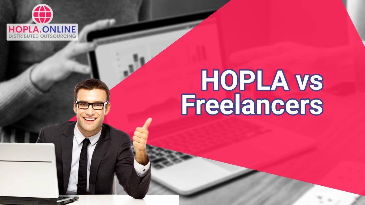 HOPLA vs Regular Freelancers