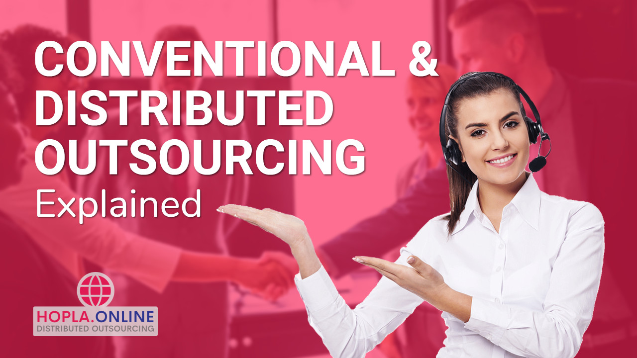Distributed And Conventional Outsourcing Explained