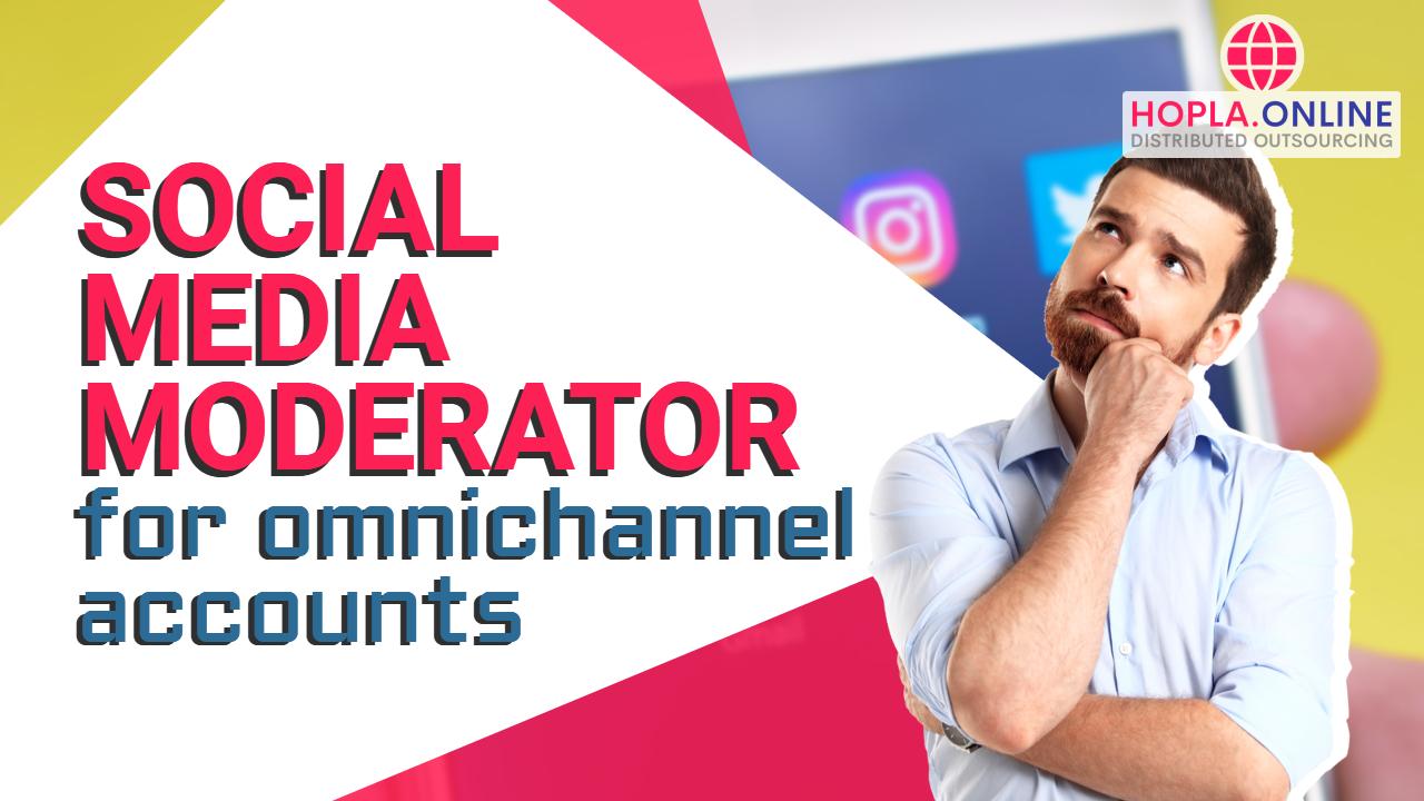 Social Media Moderator For Omnichannel Accounts