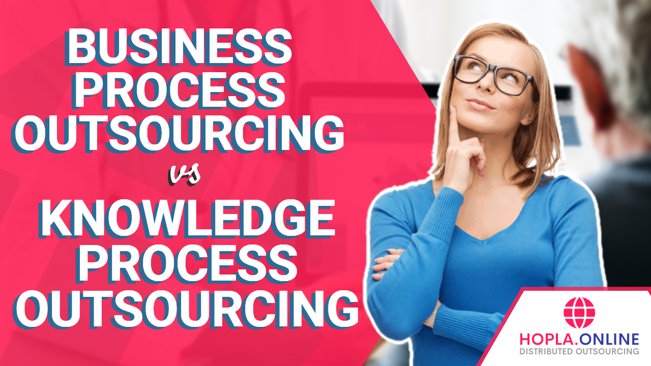 Business Process Outsourcing vs. Knowledge Process Outsourcing