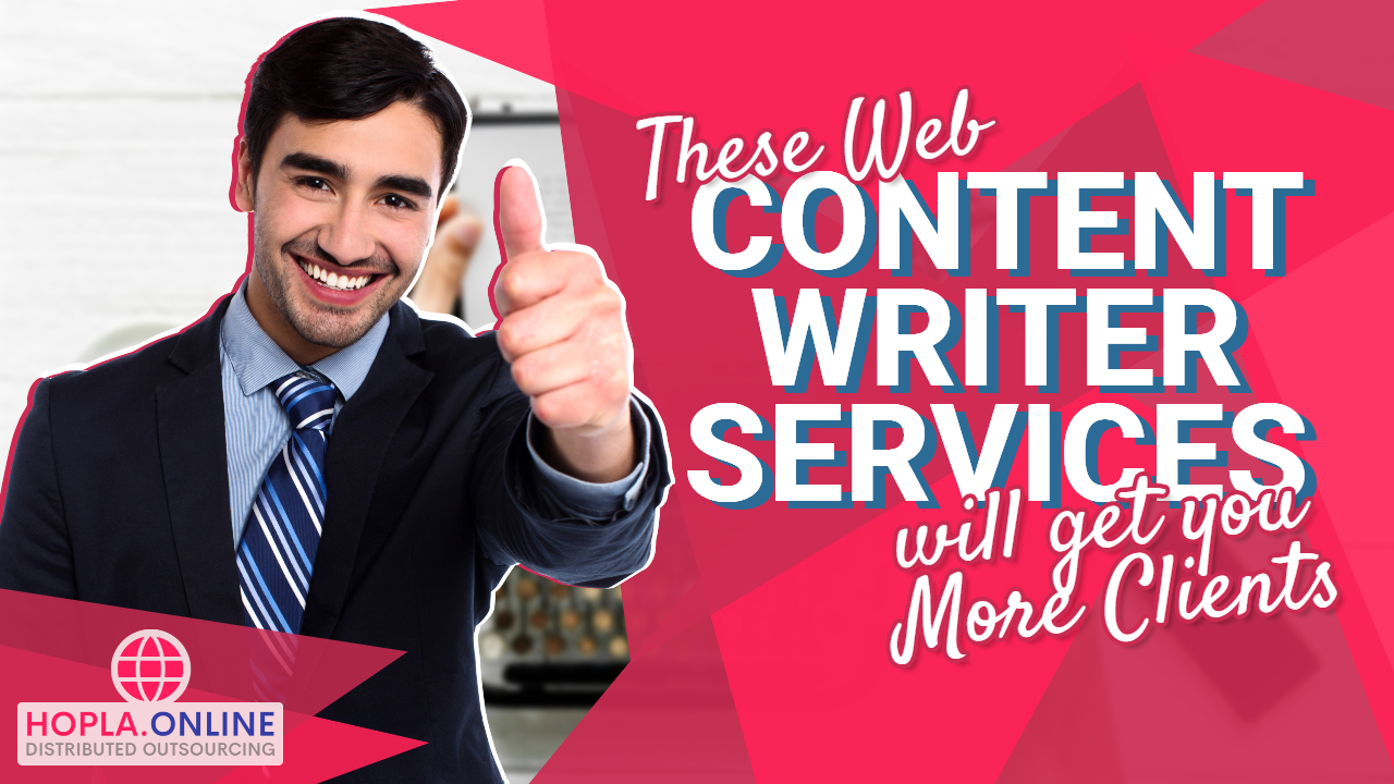These Web Content Writer Services Will Get You More Clients