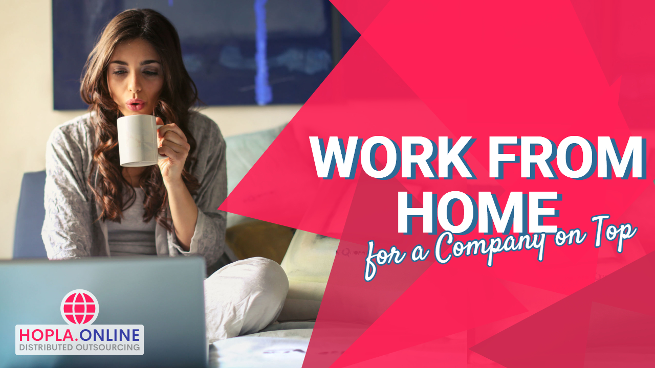Work From Home For A Company On Top
