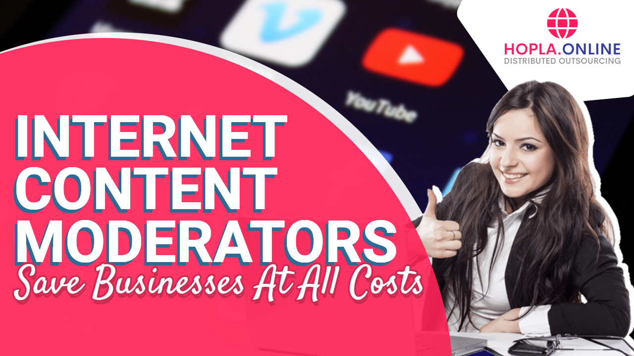 Internet Content Moderators Save Businesses At All Costs