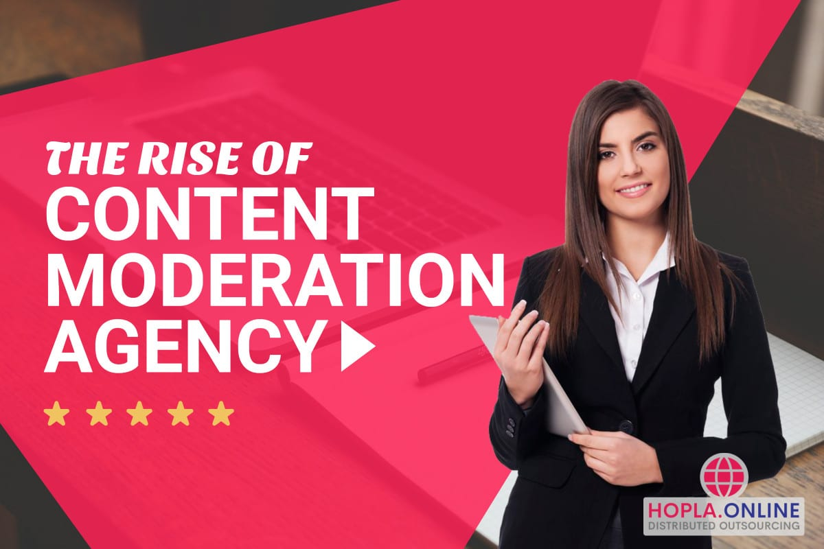 The Rise Of The Content Moderation Agency