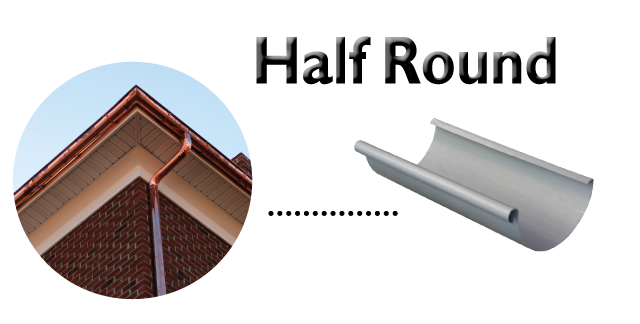 half round Gutter Styles