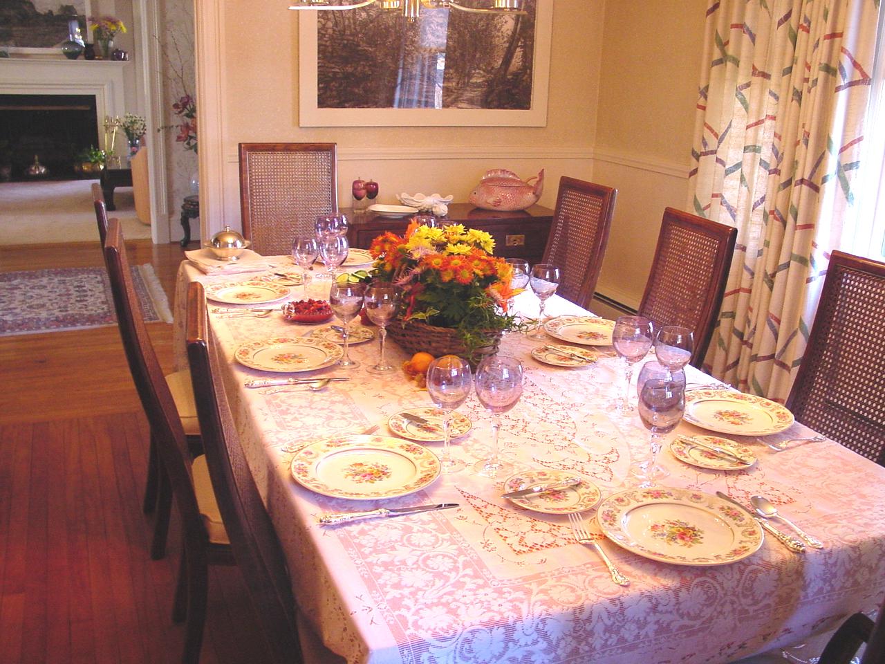 Thanksgiving Home Prep