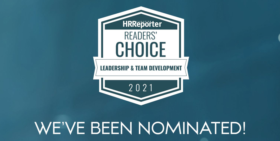We've been nominated for a Canadian HR Reporter Readers' Choice Award!