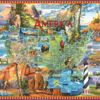 National Parks - 1000 Piece Jigsaw Puzzle