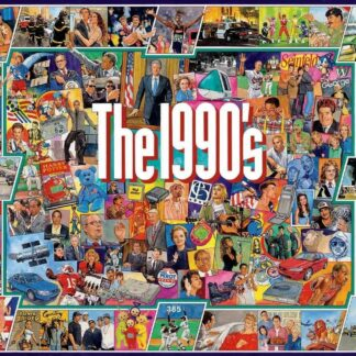 CharlesSimpson.com The Nineties - 1000 Piece Jigsaw Puzzle