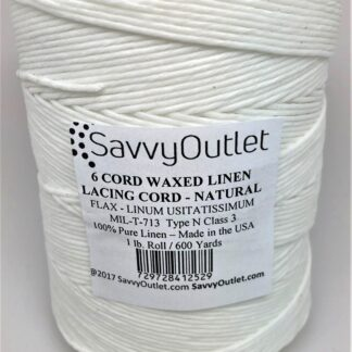 SavvyOutlet Waxed Linen