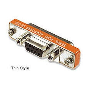 CharlesSimpson.com Ziotek Adapter Thin DB9 Female to DB25 Female ZT1310146