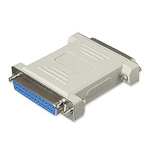 CharlesSimpson.com Ziotek Null Modem Adapter DB25 Female to DB25 Female ZT1310280