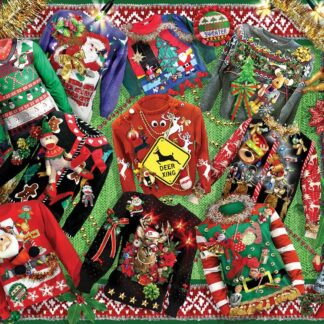 CharlesSimpson.com Ugly Sweaters - 1000 Piece Jigsaw Puzzle