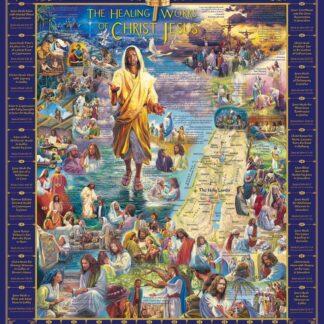 CharlesSimpson.com Healings of Jesus - 1000 Piece Jigsaw Puzzle