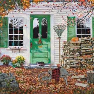 CharlesSimpson.com Autumn Leaves - 1000 Piece Jigsaw Puzzle